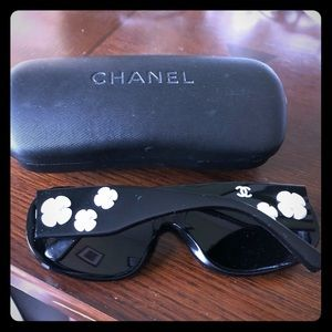 """Chanel """"Camellia"""" sunglasses"""